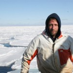 Edgar Hansen aboard the F/V Northwestern during Opies up in the Ice Pack