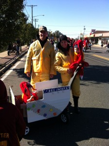 The Smith Family - Halloween Parade Jersey Shore Northwestern