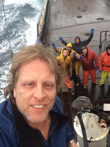 Sig couldn't make the finale of Celebrity Apprentice tonight so he sent the Coast Guard Foundation a crew selfie from the boat today....